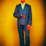 """2 HOT in Berlin - FriendlySociety Sommer Style"" Foto: Galya Feierman at #Bunkerstudio Berlin Styling / H&M by Gregor Marvel Model: Mr.GoM  Crown & Glove: #StudioObectra Shirt: #KaiserFriedrichHemden Suit: #Brachmann Ring: #4everSculptureRing.com Shoes: #ALDO – mit Gregor Marvel, Galya Feierman, ALDO Shoes, Kaiser Friedrich Herrenhemden und Studio Obectra."