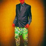 """2 HOT in Berlin - FriendlySociety Sommer Style"" Foto: Galya Feierman at #Bunkerstudio Berlin Styling / H&M by Gregor Marvel Model: Mr.GoM  Jacket: #BotoxDesaster Shirt: #KaiserFriedrichHemden Harnish: #StudioObactra Pants: #GregOrMarvel – mit Gregor Marvel, Galya Feierman, Studio Obectra und Kaiser Friedrich Herrenhemden."
